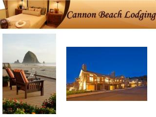 Cannon Beach Lodging - Unique Lodging Options For Your Beach