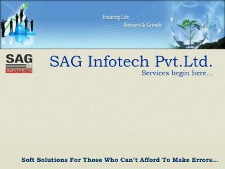 SAG Infotech Pvt.Ltd.