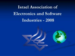 Israel Association of Electronics and Software  Industries - 2008