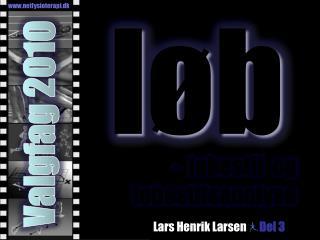 Lars Henrik Larsen Del 3