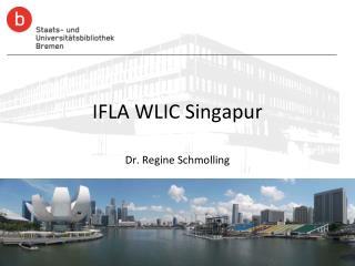 IFLA WLIC Singapur