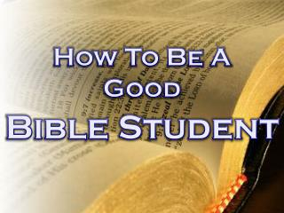 Bible Student