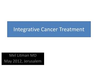 Integrative Cancer Treatment