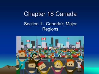 Chapter 18 Canada