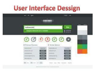 User Interface Design By GOIGI