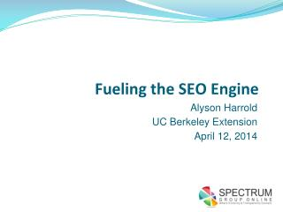 Fueling the SEO Engine