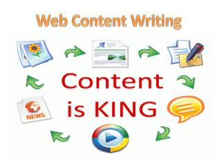Web Content Writing By GOIGI