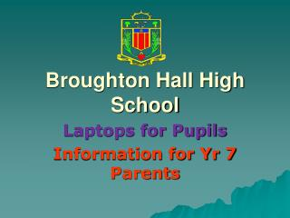 Broughton Hall High School