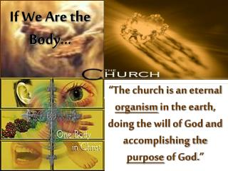 If We Are the Body…