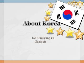 About Korea
