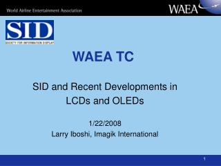 WAEA TC