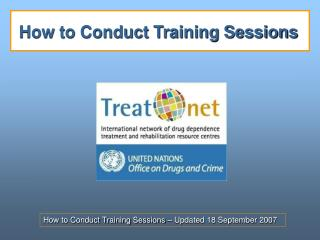 How to Conduct Training Sessions