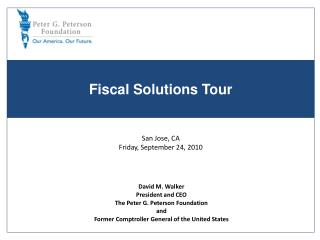 Fiscal Solutions Tour