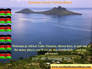 Welcome to Lake Victoria-Kenya