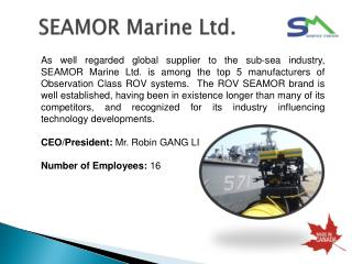 SEAMOR Marine Ltd.