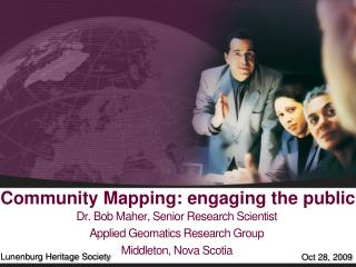 Community Mapping: engaging the public