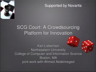SCG Court: A  Crowdsourcing  Platform for Innovation
