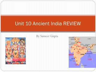 Unit 10 Ancient India REVIEW