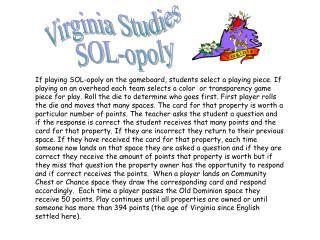 Virginia Studies