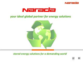 stored energy solutions for a demanding world