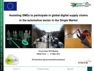 Assisting SMEs to participate in global digital supply  chains