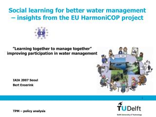 Social learning for better water management – insights from the EU HarmoniCOP project