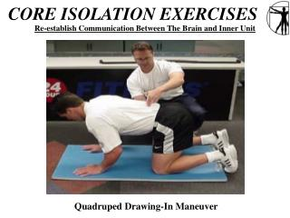 CORE ISOLATION EXERCISES