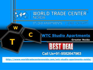 WTC Studio Apartments- WTC Studio Apartments Noida