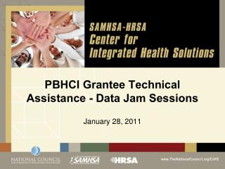 PBHCI Grantee Technical Assistance - Data Jam Sessions