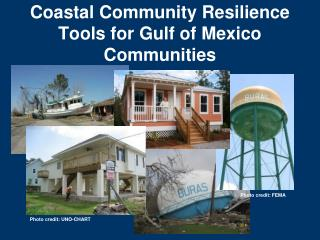 Coastal Community Resilience Tools for Gulf of Mexico Communities