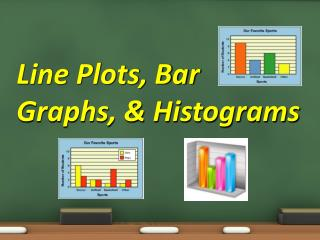 Line Plots, Bar Graphs, & Histograms
