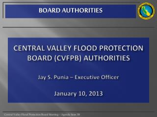 BOARD AUTHORITIES