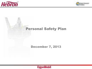 Personal Safety Plan