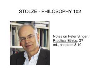 STOLZE - PHILOSOPHY 102
