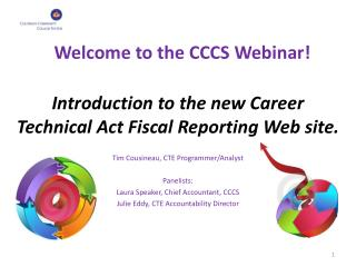 Introduction to the new Career Technical Act Fiscal Reporting Web site.
