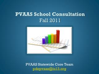 PVAAS School  Consultation Fall 2011
