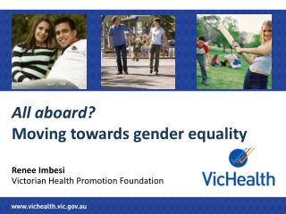 All aboard?  Moving towards  gender equality