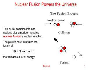 Nuclear Fusion Powers the Universe