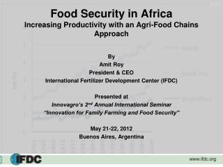 Food Security in Africa Increasing Productivity with an Agri-Food Chains Approach