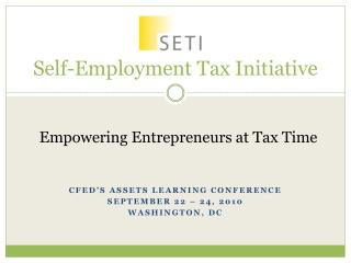 Self-Employment Tax Initiative