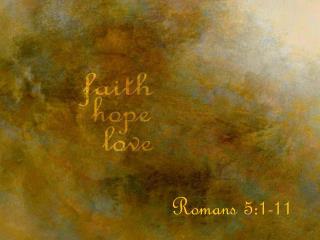 Romans 5:1-11