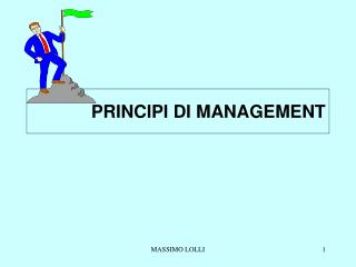 PRINCIPI DI MANAGEMENT