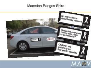Macedon Ranges Shire