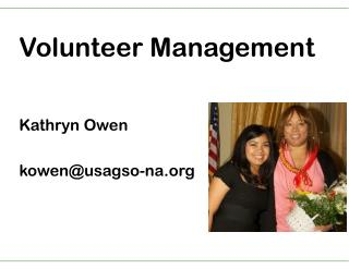 Volunteer Management