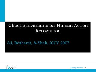 Chaotic Invariants for Human Action Recognition
