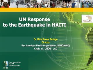 UN Response  to the Earthquake in HAITI
