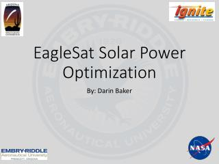 EagleSat Solar Power Optimization