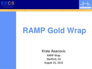 RAMP Gold Wrap