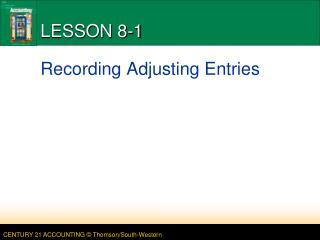 LESSON 8-1
