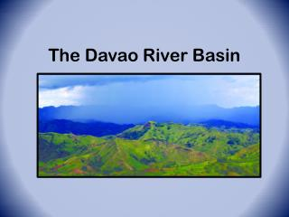 The Davao River Basin